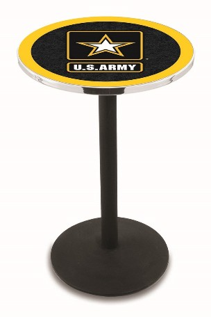 Logo pub tables quality bar stools counter stools pub tables and h5 l214 28 or 36 logo pub table black wrinkle or chrome 36 or 42 high watchthetrailerfo