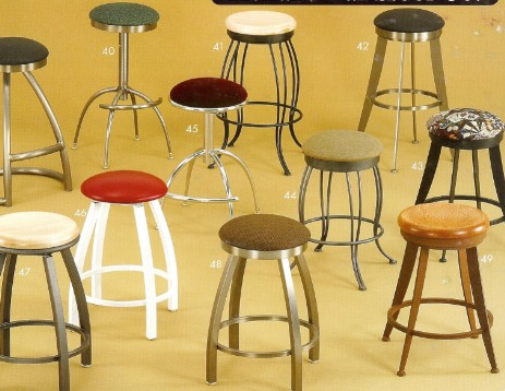 Incredible Swivel Seat Stools W O Backs Quality Bar Stools Counter Short Links Chair Design For Home Short Linksinfo